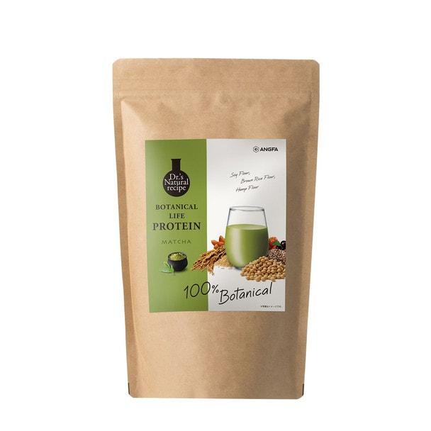Dr.'s Natural recipe ボタニカルライフプロテイン(抹茶味)375g 1