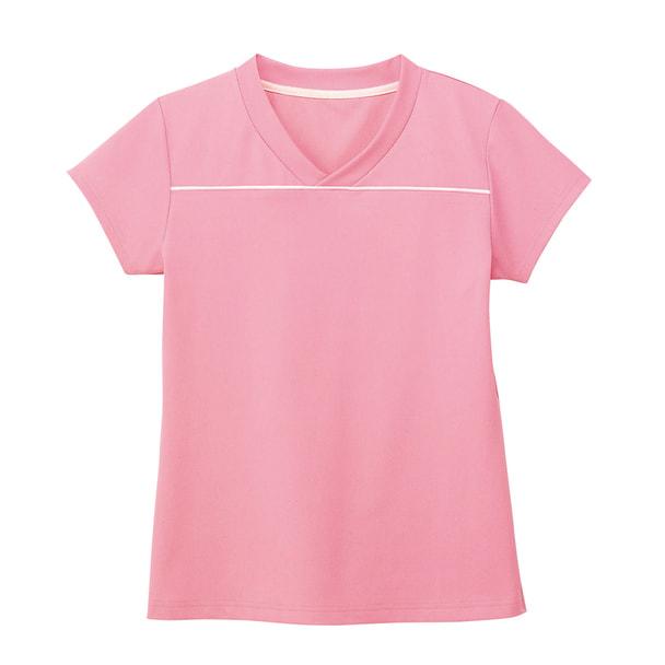 VネックTシャツ HM1589(3L)(ストロベリーピンク) 1