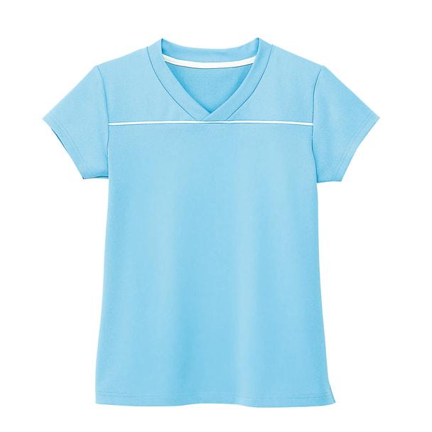 VネックTシャツ HM1589(M)(ソーダ) 1