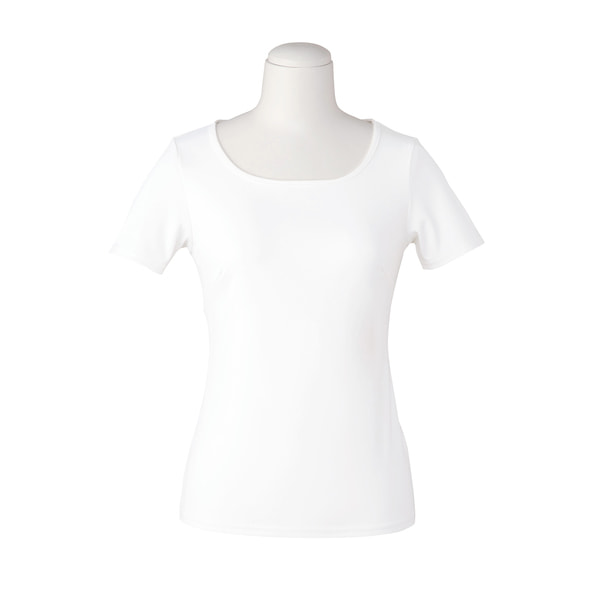 半袖プルオーバー EST082(3L)(ホワイト) 1