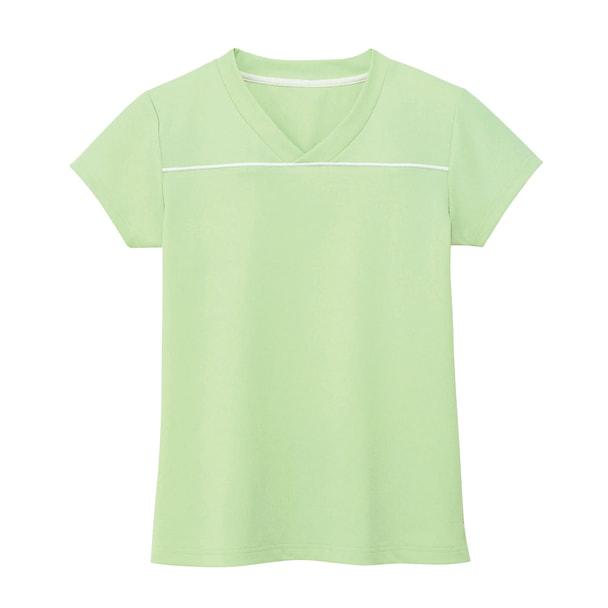 VネックTシャツ HM1589(LL)(メロン) 1