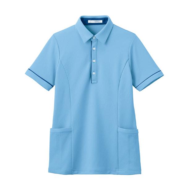半袖ロングポロシャツ HSP004(SS)(クリアスカイ) 1
