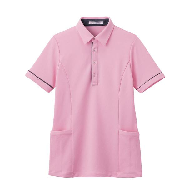 半袖ロングポロシャツ HSP004(L)(ブロッサムピンク) 1