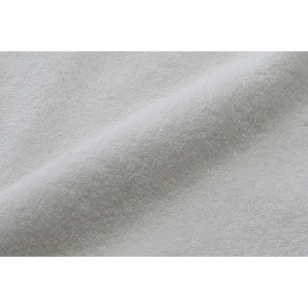【今治タオル】しっとり潤う ダブルムーン タオルケット 138×210cm(ホワイト) 1