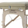 高級木製折りたたみリクライニングベッド009DX(ベージュ) 6