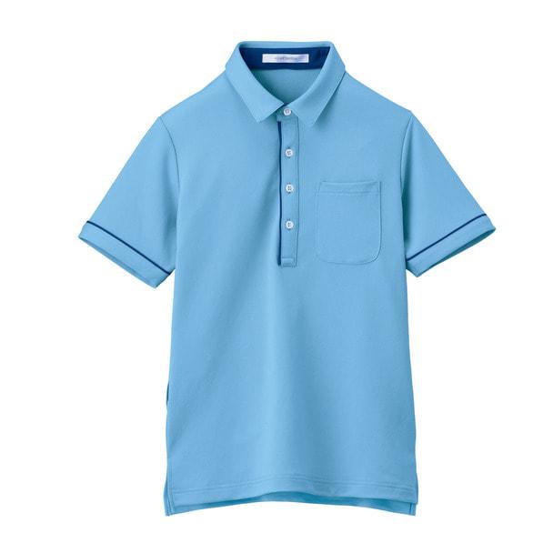 半袖ポロシャツ HSP003(3L)(クリアスカイ) 1