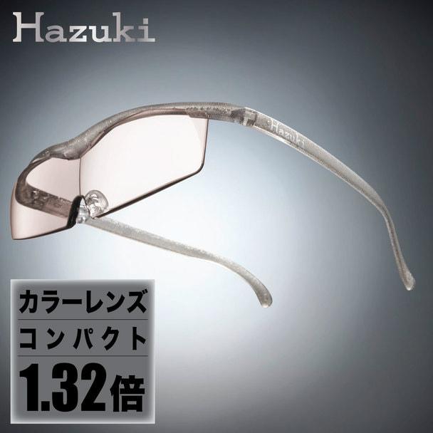 【ハズキルーペ】カラーレンズ コンパクト 1.32倍 チタンカラー 1