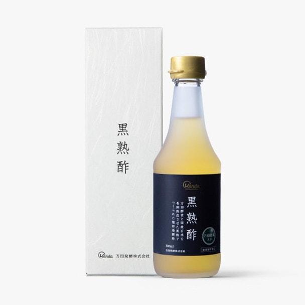 万田酵素 黒熟酢 300ml