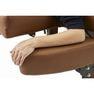 【FORTE】アームレスト可動式高級木製リクライニングベッド「フォルテ」 6