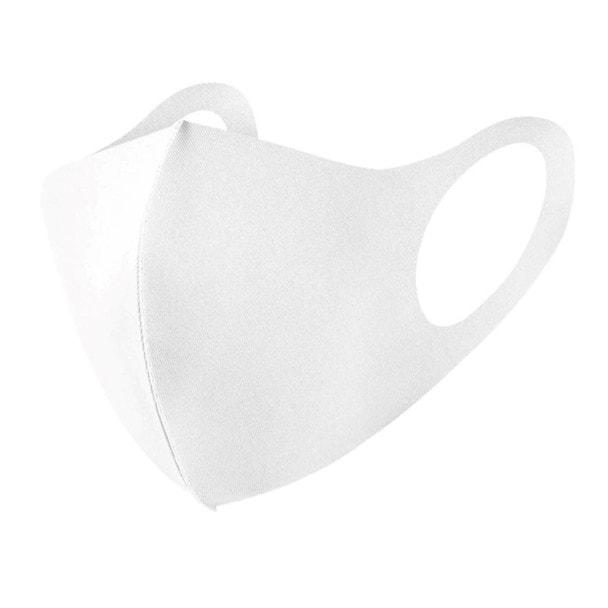 接触冷感マスク 5枚セット【ホワイト】