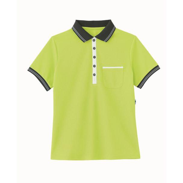 ポロシャツ HM2179(L)(アップルグリーン) 1