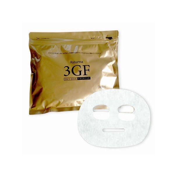 アスターナ 3GFフェイスマスク プレミアム 40枚入り×3袋 1