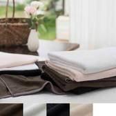 【今治タオル】しっとり潤う ダブルムーン  フェイスタオル 32×87cm(ダークネイビー)