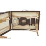軽量木製折りたたみベッド EB-03DX(キャリーバッグ付)(ダークブラウン) 5