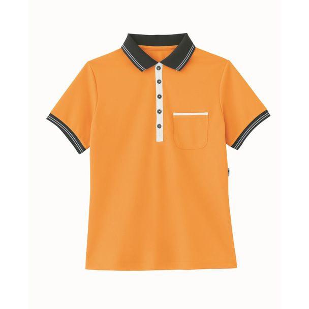 ポロシャツ HM2179(3L)(オレンジ) 1