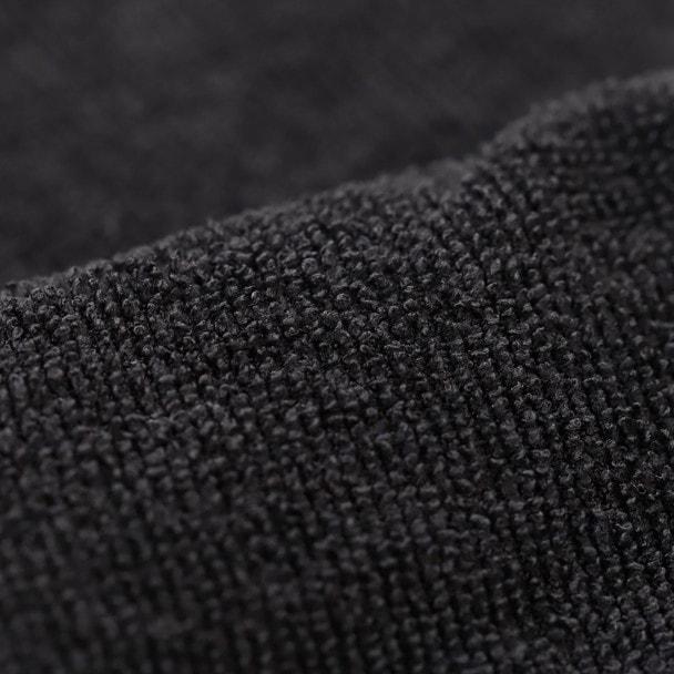 やわらかマイクロファイバータオル(超速乾&吸水)34×85cm 12枚入り(ブラック) 1
