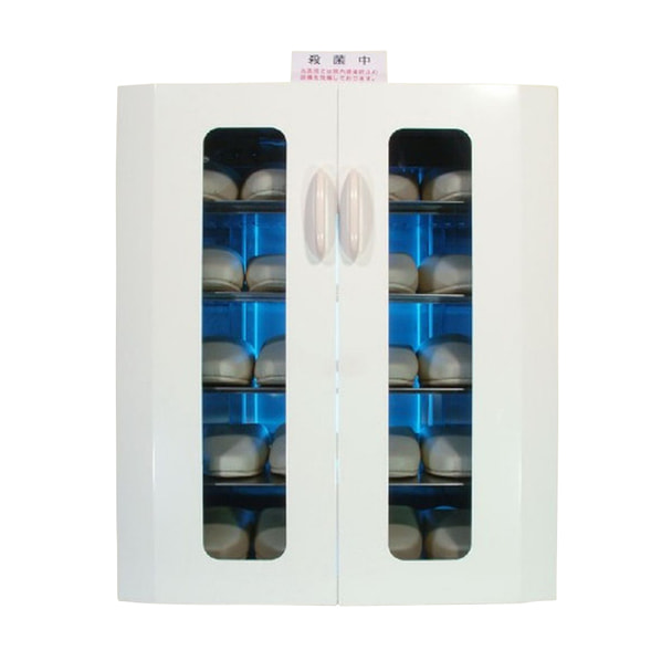 殺菌スリッパ保管庫 UVクリーン エクセレント 10足 (ホワイト)