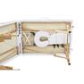 軽量木製折りたたみベッド EB-03DX(キャリーバッグ付)(ホワイト) 5