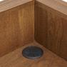 【シャビーシック】木製アンティークレジカウンター VICTOIRE-1200(ヴィクトール)BR 5