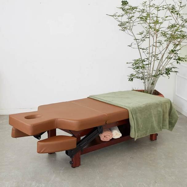 【FORTE】アームレスト可動式高級木製リクライニングベッド「フォルテ」 1