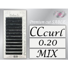 【メディカラッシュ】プレミアムカットセーブル CCカール[太さ0.20][長さ8~13mmMIX]