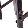 高級低反発木製折りたたみベッド006SDX(ダークブラウン) 11