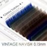 [VINTAGE NAVISH] FLAT [Jカール太さ0.15長さ9~11mm] 2