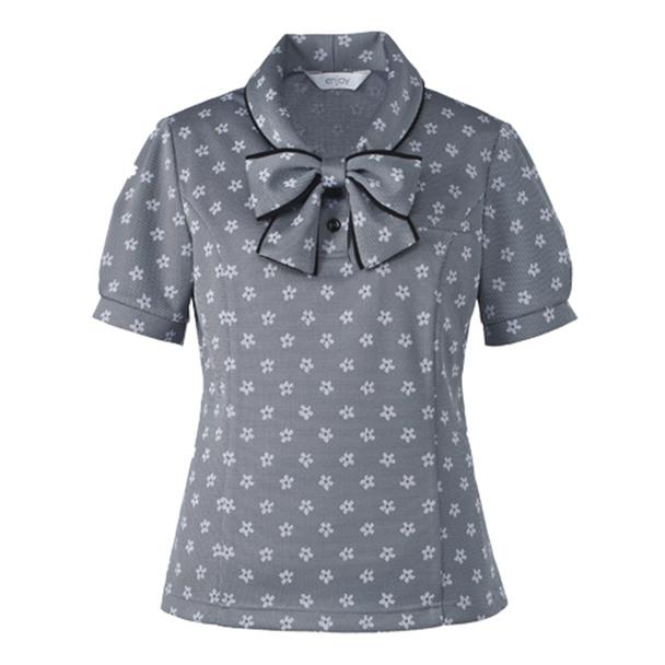 ポロシャツ ESP558(3L)(グレー) 1
