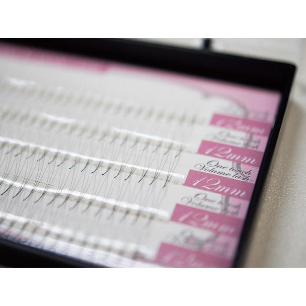 【プラチナミンクラッシュ】ワンタッチボリューム Cカール[太さ0.05][長さ14mm] 1