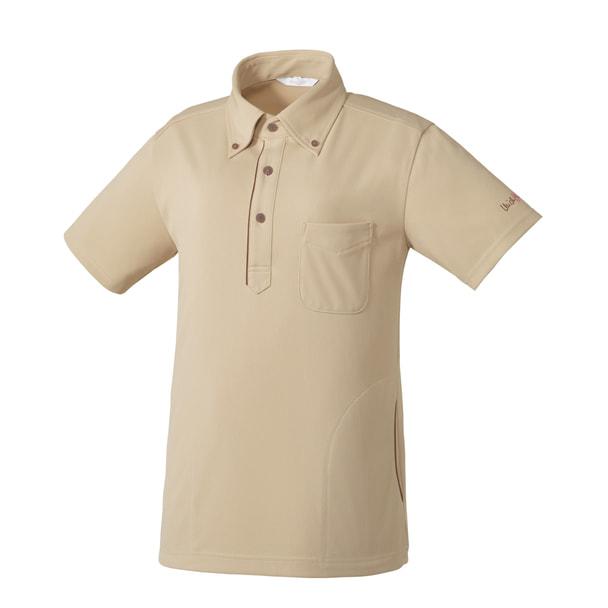 ニットシャツMK0037(L)(ベージュ) 1