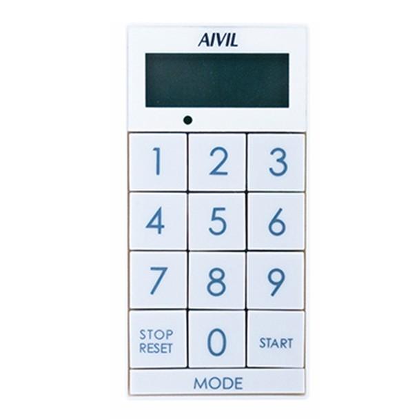 アイビル デジタルタイマー スリムキューブ(ホワイト)Z-430WT