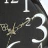 壁掛け時計 レトロ(56921)ブラウン 2