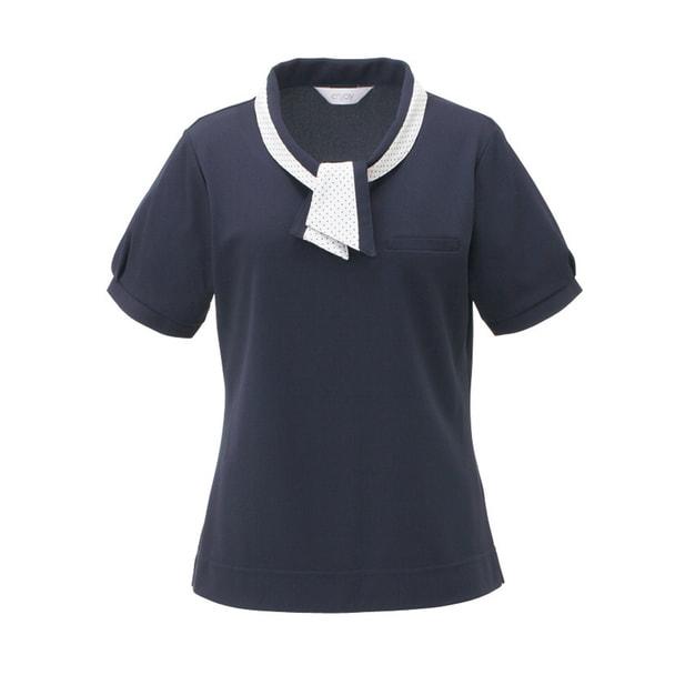 ポロシャツ ESP404(L)(ネイビー) 1