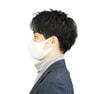 接触冷感マスク 5枚セット(薄手/大きめタイプ)【ホワイト】 2