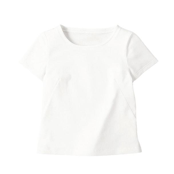 半袖ちゃんとT(天竺)WP304-17(3L)(ホワイト) 1