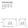 JOHAN TABLE 1600タイプ オールドパイン(288877) 3