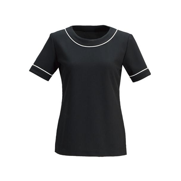 カットソーE-3121(L)(ブラック) 1