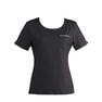 ラウンドTシャツS-41Y(S)(白×黒) 4