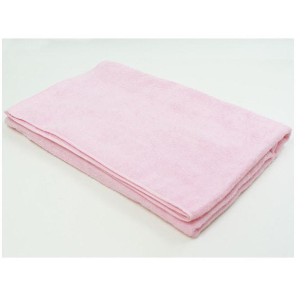 高級パイル地特大タオルシーツ 110×220cm(ピンク) 1