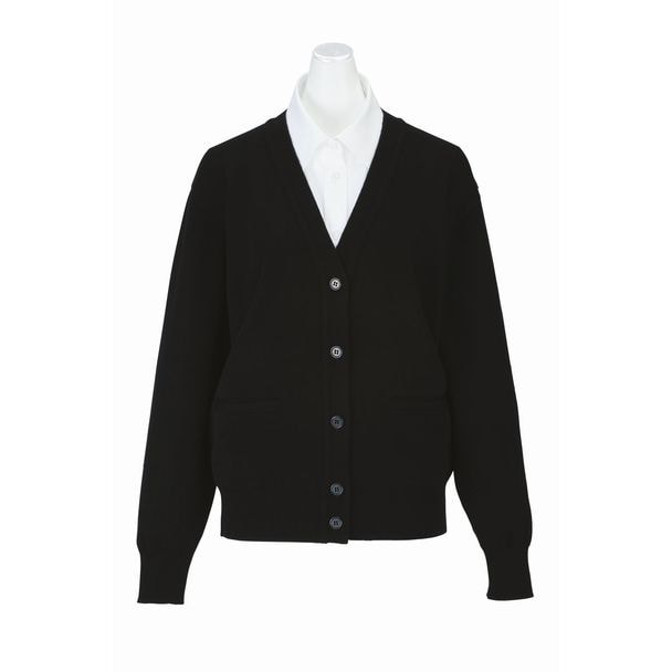 カーディガン EW99(3L)(ブラック) 1