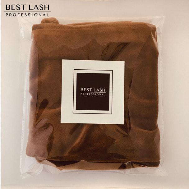 【BEST LASH】ピローカバー(ブラウン)