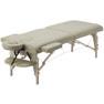 高級低反発木製折りたたみベッド006SDX(ベージュ) 1