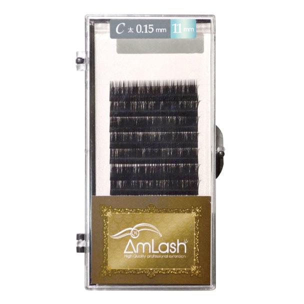 【Amlash】ハイクオリティエクステ Cカール 太さ0.15 長さ13mm 1