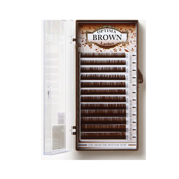 【OPTIMA】ショコラブラウン Jカール[太さ0.15][長さ7~12mmMIX]