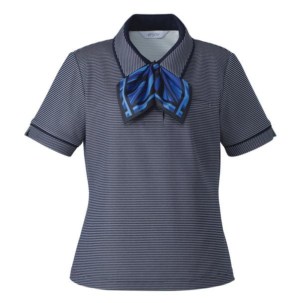 ポロシャツ ESP557(L)(ネイビー) 1
