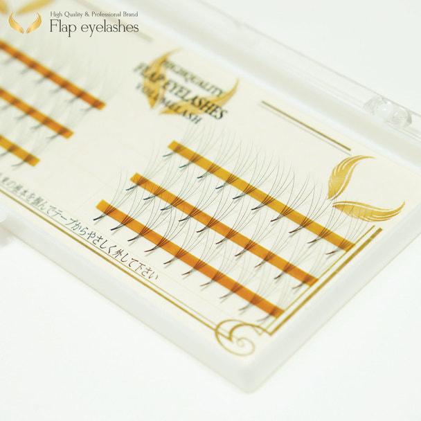 4本フレア 60束 Dカール[太さ0.07][長さ10mm]