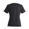 ラウンドTシャツS-41Y(L)(ブラック×ベージュ) 2
