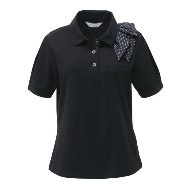 ポロシャツ ESP403(3L)(ブラック) 1