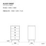 ALICE CHEST 5drawer(233867) 6