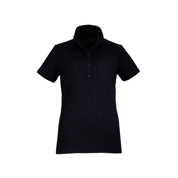 カットソーE-3106(L)(ブラック) 1